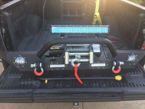 Jeep wrangler Bumper and Smittybilt winch new for Sale in Scottsdale, AZ