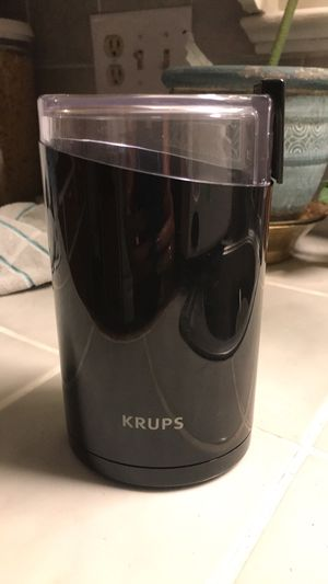 KRUPS F203 Electric Spice and Coffee Grinder with Stainless Steel Blades for Sale in Medford, OR