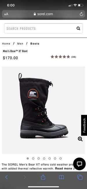 Brand new/never worn Sorel Bear XT snow boots for Sale in Alhambra, CA