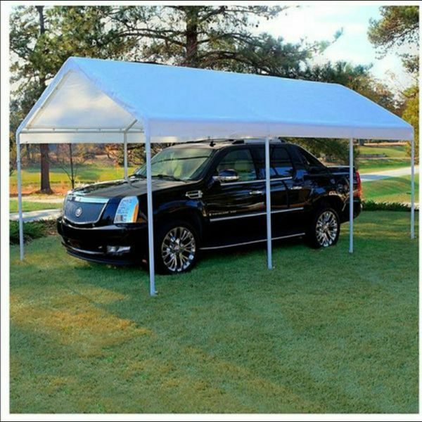 Canopy Tarp Waterproof 10'x20' carpa Lona Tent Carport new