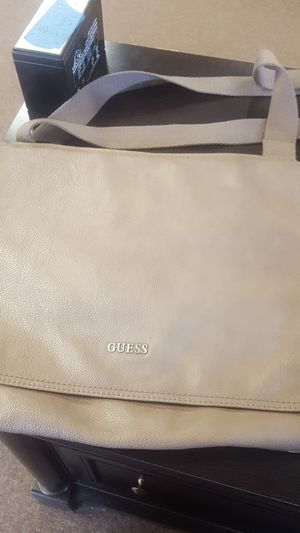 Guess leather messenger bag for Sale in Whittier, CA