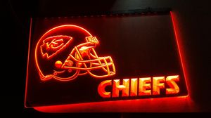 8x11 inch Kansas City Chiefs lighted sign for Sale in San Antonio, TX