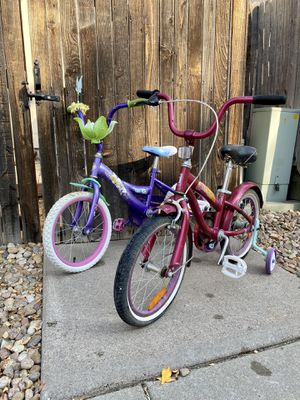 "Two 16"" girls' bikes for Sale in Denver, CO"