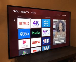 55 inch TCL US5800 4K LED Roku Smart TV for Sale in Los Angeles, CA