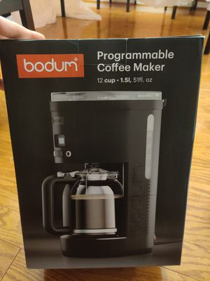 Bodum Coffee Maker programmable for Sale in Alexandria, VA