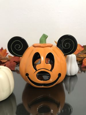 Disney Parks Mickey Mouse Jack O Lantern for Sale in Hacienda Heights, CA
