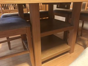 Jordan's kitchen table and seven chairs for Sale in Billerica, MA