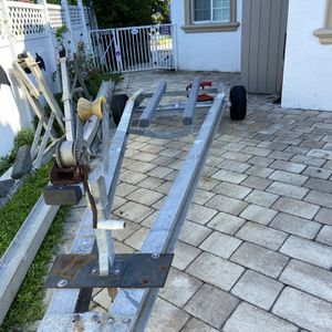 Trailer For Up 17 Ft Boat/ Or Jet Dki for Sale in Deerfield Beach, FL