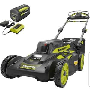 40-Volt 6.0 Ah Lithium-Ion Battery Brushless Cordless Walk Behind Self-Propelled Lawn Mower with Charger Included...nueva ...firme... for Sale in Compton, CA
