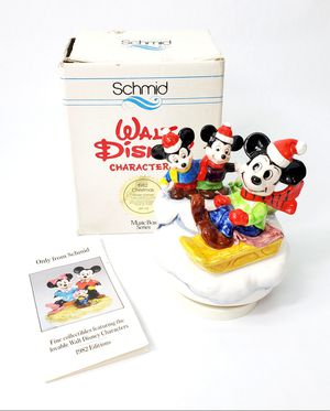 "Limited Edition - Walt Disney - Schmid - ""1982 Christmas Winter Games"" Musical Figurine for Sale in Trenton, NJ"