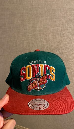 Seattle SuperSonics SnapBack Mitchell & Ness for Sale in Anaheim, CA