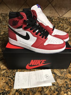 Jordan 1 retros Spider-Man's Size 9 for Sale in City of Industry, CA