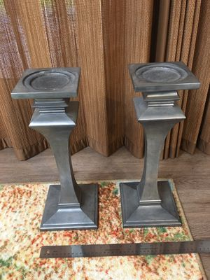 2-Piece Metallic Candle Holders for Sale in Cockeysville, MD