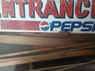 Large Metal Pepsi Entrance Sign for Sale in Wenatchee,  WA