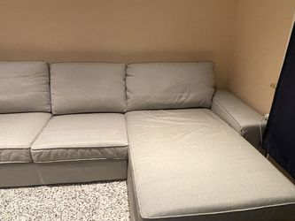 Couch Light Grey Sectional for Sale in Brooklyn,  NY