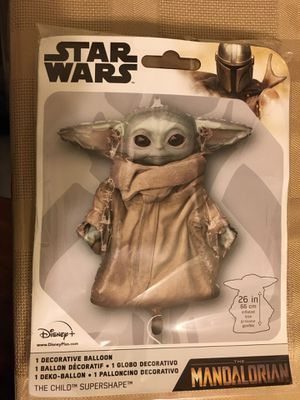 "Yoda 26"" balloon for Sale in Santa Ana, CA"