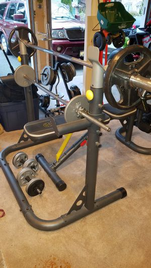 Weight bench and punching bag for Sale in Buckley, WA