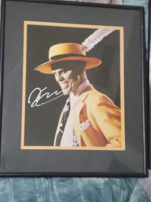 Certification of authenticity included-jim carrey the mask for Sale in Phoenix, AZ