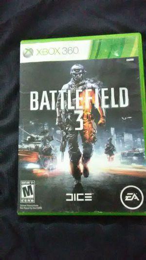 Xbox360- battlefield 3 for Sale in Auburn, IN