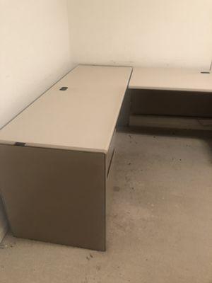 Metal office desk for Sale in Ashburn, VA