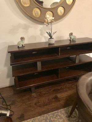 Console TV Table for Sale in Houston, TX