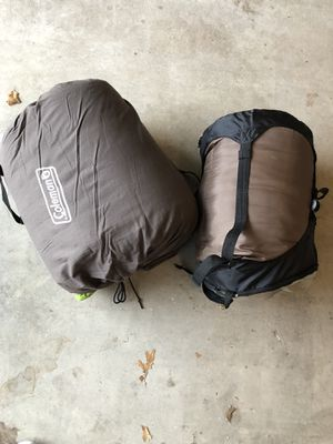 Sleeping bags camping for Sale in Pflugerville, TX