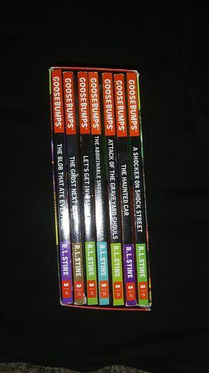 Goosebumps 8 book set for Sale in Las Vegas, NV
