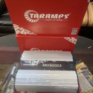 Taramps Car Audio . Car Stereo Amplifier . 5000 watt Super Class D . High Quality . New Years Super Sale $399 While They Last . New for Sale in Mesa, AZ