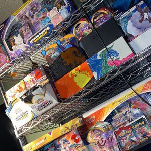 Pokémon booster packs and Pokémon booster boxes,Pokémon sun and moon And sword and shield base sets everything (Unweighed!) for Sale in Phoenix, AZ