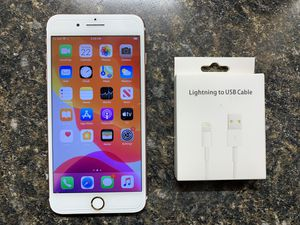 iPhone 7 Plus Rose Gold 128GB Unlocked✅Price Firm✅ for Sale in Chicago, IL