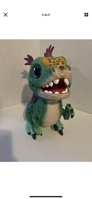 FurReal Friends Munchin Rex T-Rex Dinosaur Interactive Pet Toy Sound Moving for Sale in Orlando, FL