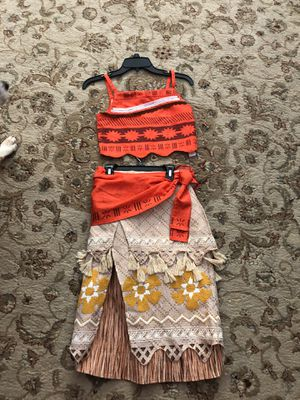 Moana Costume Disney store size 11/12 for Sale in NO FORT MYERS, FL