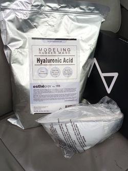 Modeling Rubber Mask 35 Oz. Hyaluronic Acid for Sale in Granite City,  IL
