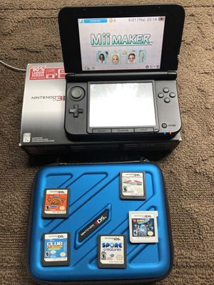 Nintendo 3DS XL and comes with 6 games for Sale in Aspen Hill, MD