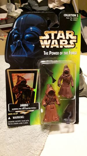 UNOPENED 1996 KENNER HOLOGRAPHIC JAWAS ACTION FIGURE for Sale in Los Angeles, CA