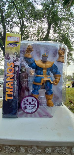 Thanos collectible action figure toy figures avengers for Sale in Houston, TX
