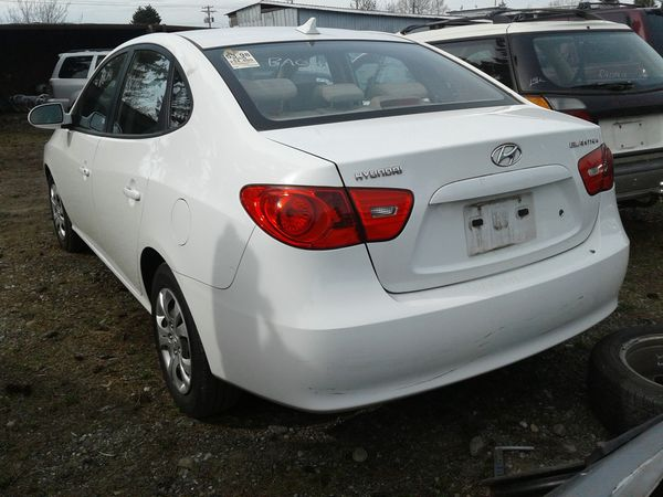 Parting Out - 2009 Hyundai Elantra