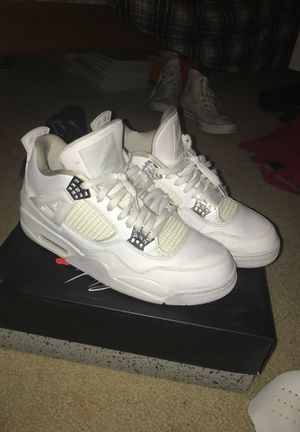 Pure Money Retro 4 Jordan's (Force Field's Included) for Sale in Denver, CO