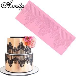 Crown Lace Silicone Mat Mold Mould Sugar Craft Fondant Cake Decorating Baking for Sale in Happy Valley, OR