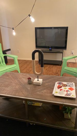 Wood and metal coffee table for Sale in Bend, OR