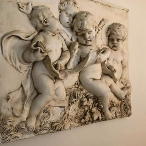 Large Heavy Angels 3d Wall Decor for Sale in Pompano Beach, FL