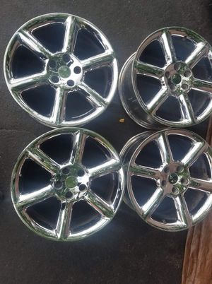 """""""18"""" INCH RIM'S CHROME 5X114.3 FIT MANY CARS. for Sale in Scottdale, GA"""