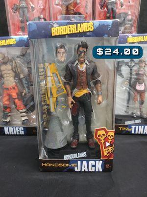 201 McFarlane Toys. 2k Gearbox Borderlands Handsome Jack Action Figure SAS#BLS for Sale in Alameda, CA