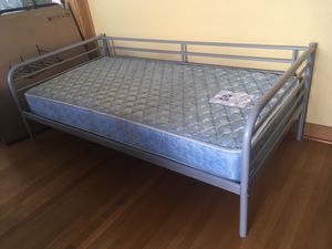 Two 2 blue mattresses in good condition mattress bed beds for Sale in Tucson, AZ