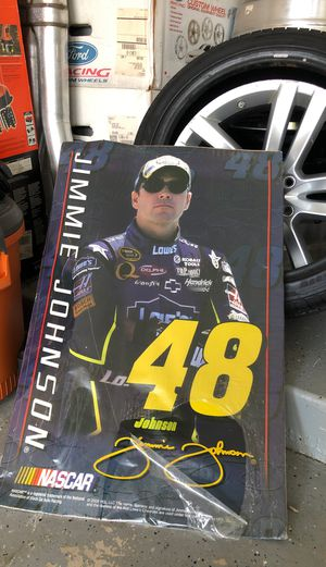 Jimmy Johnson poster >>>>FREE<<<< for Sale in Tinley Park, IL