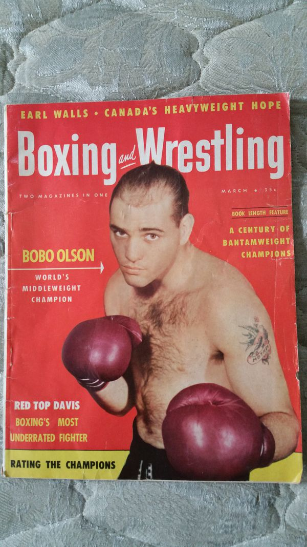 Boxing mag from 50s