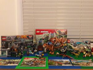 4 Jurassic World lego Sets Like New for Sale in Shoreline, WA