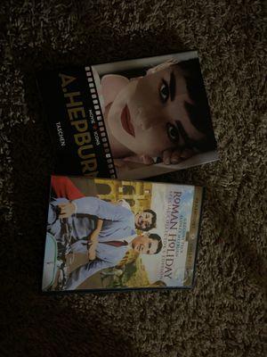 Audrey Hepburn dvd and book for Sale in St. Petersburg, FL