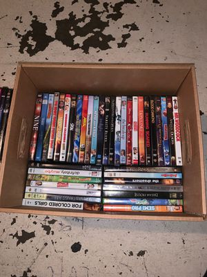 DvD movies 6 for 15$ for Sale in Houston, TX