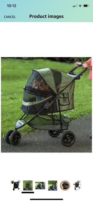 Pet Gear No-Zip Pet Stroller for Cats/Dogs, Zipperless Entry, Foldable for Sale in Las Vegas, NV